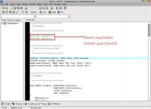header OpenGL